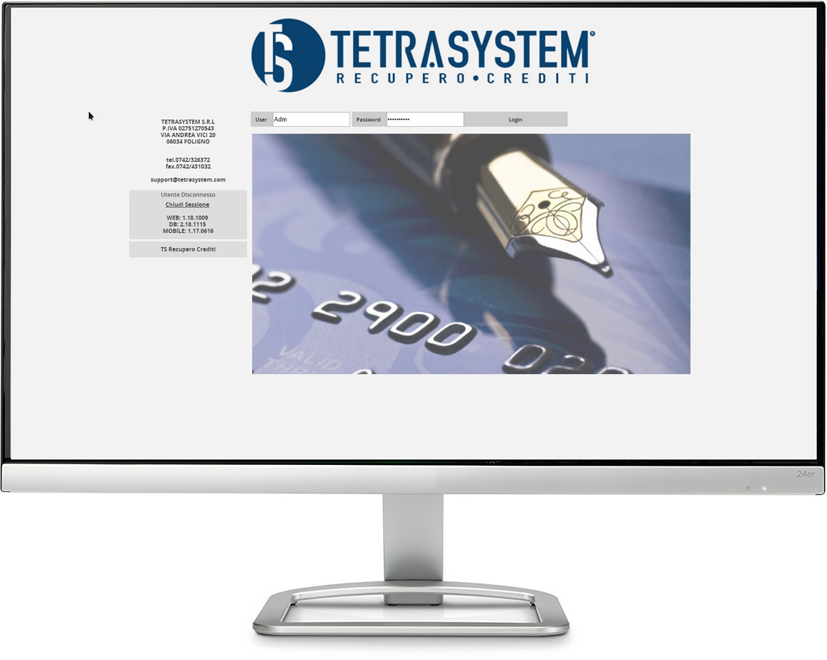Software Recupero Crediti TetraSystem